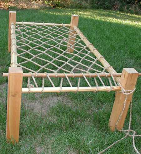 Figure 4: The Whole Bed: 6' long by 2 1/2'wide by 2' high